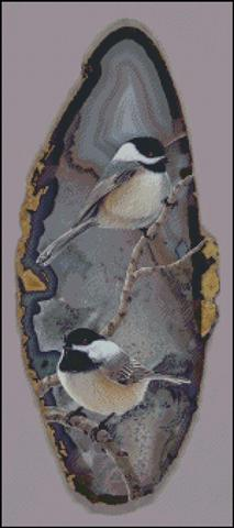 click here to view larger image of Chickadee Pair (chart)