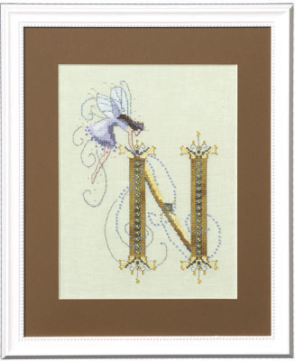 click here to view larger image of Letters From Nora - N (chart)