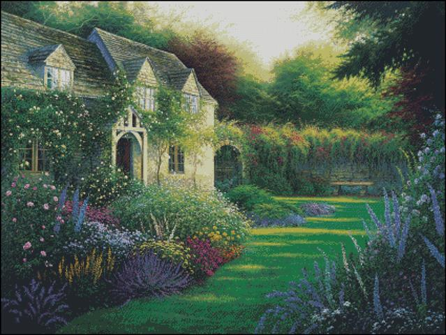 click here to view larger image of Cottage Garden (chart)