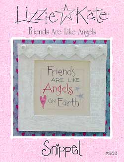click here to view larger image of Friends Are Like Angels - Snippet (chart)