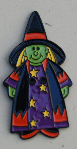 click here to view larger image of Witch (buttons)