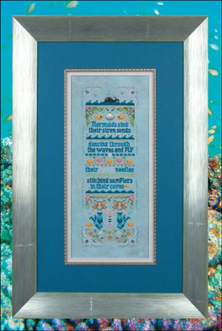 click here to view larger image of Sirens of the Sea (embellishments included) (chart with charms/buttons)