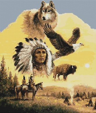 click here to view larger image of Chief Animal Collage (chart)