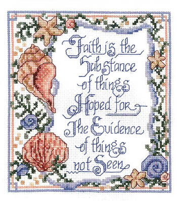 click here to view larger image of Faith Is Not Seen (chart)