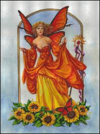 click here to view larger image of Sunflower Fairy (chart)