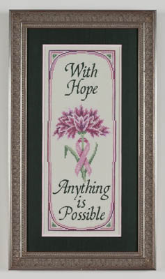 click here to view larger image of Bloom Of Hope, A (Breast Cancer Tribute) (chart)