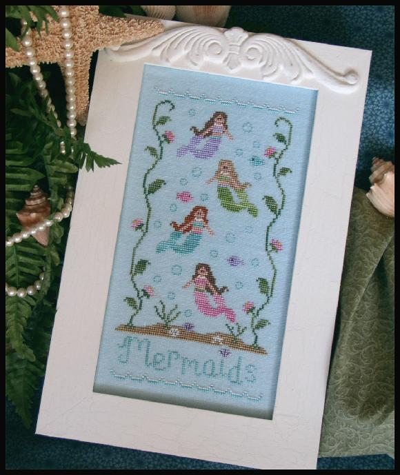 click here to view larger image of Mermaids (chart)