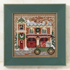 click here to view larger image of Firehouse (2009) (counted cross stitch kit)