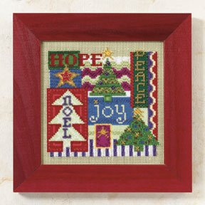 click here to view larger image of Christmas Collage (2009)  (counted cross stitch kit)