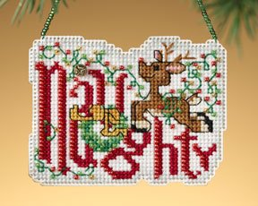 click here to view larger image of Naughty (2009)  (counted cross stitch kit)