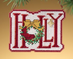 click here to view larger image of Holly (2009)  (counted cross stitch kit)