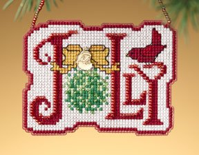 click here to view larger image of Jolly (2009)  (counted cross stitch kit)
