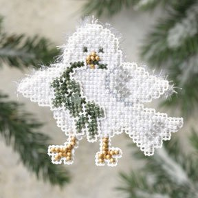 click here to view larger image of Downy Dove (counted cross stitch kit)