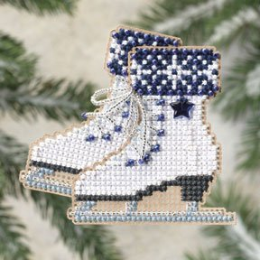click here to view larger image of Ice Skates (counted cross stitch kit)