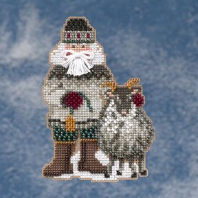 click here to view larger image of Greenland Santa (2009)  (counted cross stitch kit)