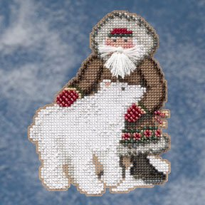 click here to view larger image of Nunavut Santa (2009)  (counted cross stitch kit)