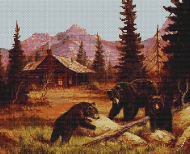 click here to view larger image of Bears At Cabin (chart)