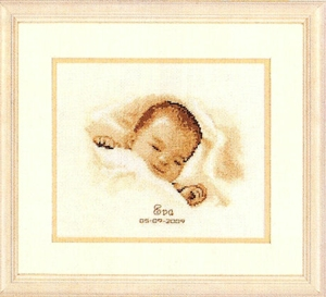 click here to view larger image of Sleeping Treasure (counted cross stitch kit)