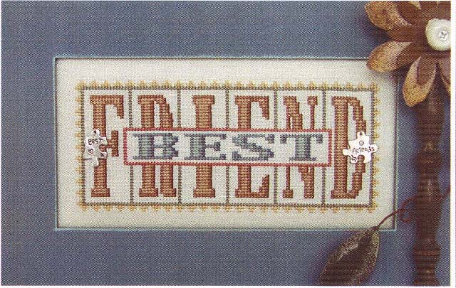 click here to view larger image of Best Friend - Printers Block (chart)