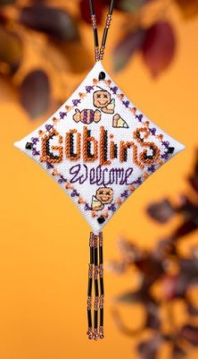 click here to view larger image of Goblins Welcome (2009) (counted cross stitch kit)