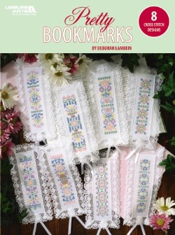 click here to view larger image of Pretty Bookmarks (book)