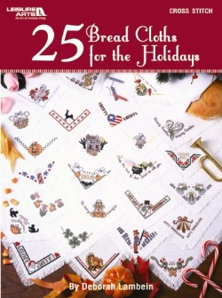 click here to view larger image of 25 Bread Cloths For The Holidays (chart (special))