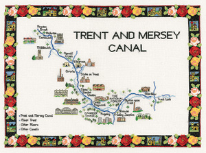 click here to view larger image of Trent & Mersey Canal  (chart)