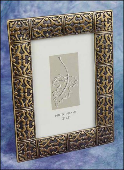 click here to view larger image of Decorative Frame - Antique Brass Frame (frame (ready made))