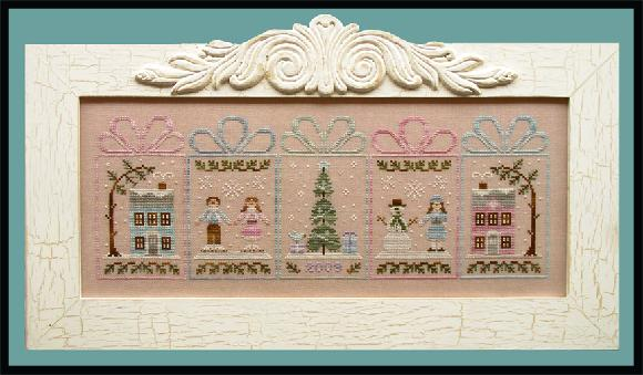 click here to view larger image of Winter Wonderland (counted cross stitch kit)