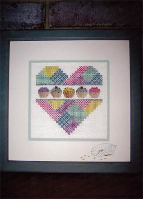 click here to view larger image of Cupcake Heart, A (chart)