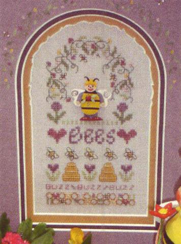 click here to view larger image of Busy Bee (counted cross stitch kit)