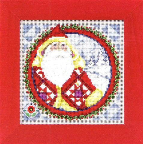 click here to view larger image of Kris Kringle (counted cross stitch kit)