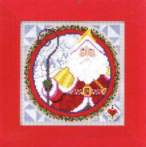click here to view larger image of Saint Nicholas (counted cross stitch kit)