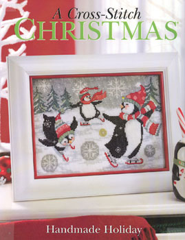 click here to view larger image of Cross Stitch Christmas - Handmade Holiday  (book)