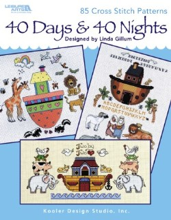 click here to view larger image of 40 Days and 40 Nights (book)