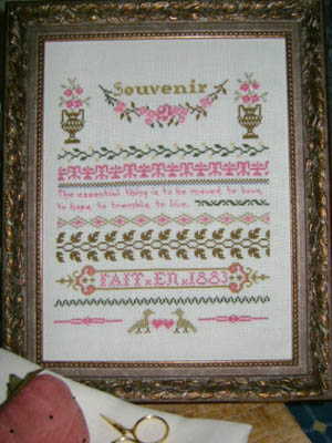 click here to view larger image of Camille's French Sampler (chart)
