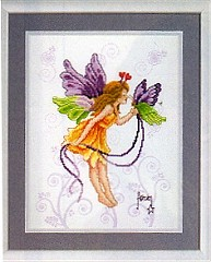 click here to view larger image of Vervaco - Butterfly Fairy (2720/70204) (counted cross stitch kit)