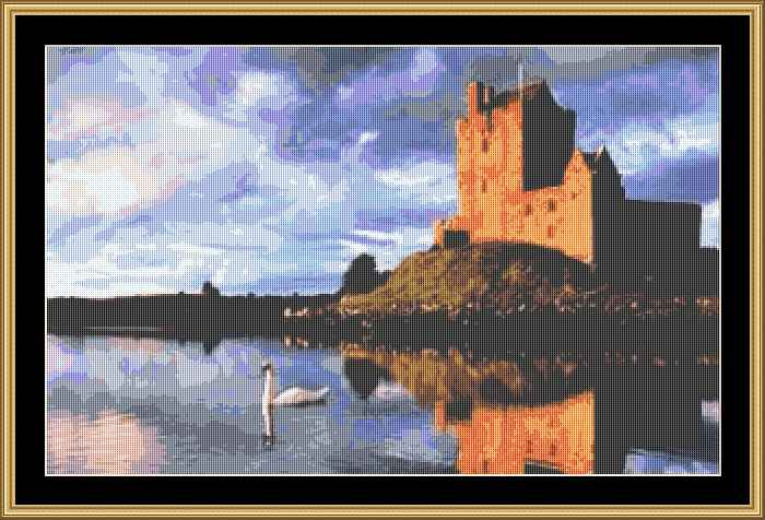 click here to view larger image of Dunguaire Castle  (chart)
