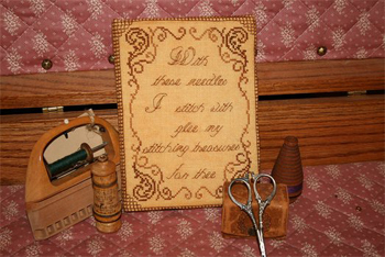 click here to view larger image of Grandma's Needlebook (Kit) (counted cross stitch kit)