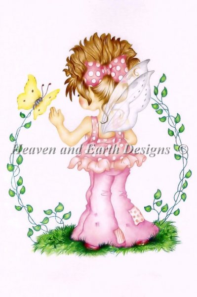 click here to view larger image of Little Pink Fairie (chart)