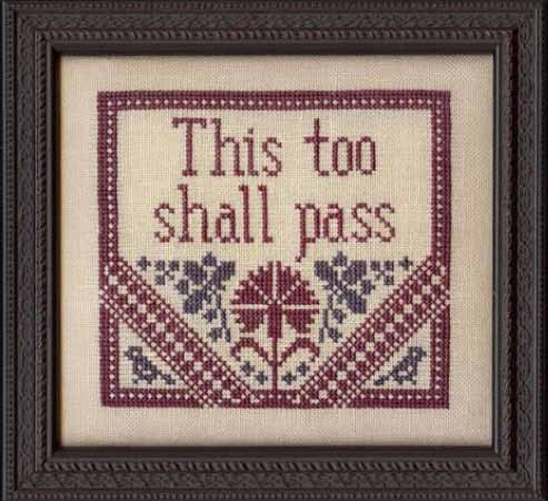 click here to view larger image of This Too Shall Pass (chart)