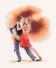 click here to view larger image of Argentine Tango  (counted cross stitch kit)