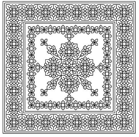 click here to view larger image of Flower Maze (chart)