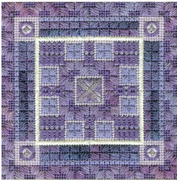click here to view larger image of Color Delights - Violet (counted canvas chart)