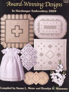 click here to view larger image of Award Winning Designs In Hardanger Embroidery 2009  (chart)