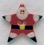 click here to view larger image of Star Santa (buttons)