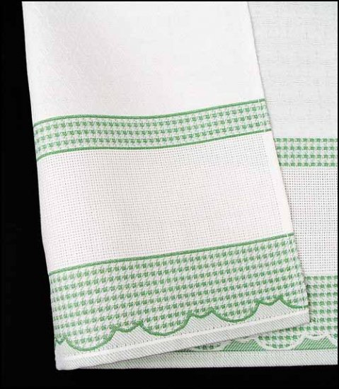 click here to view larger image of Madagascar Kitchen Towel (stitchable)