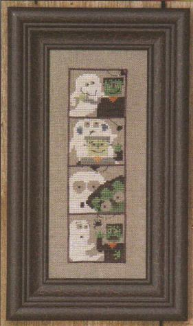 click here to view larger image of Photobooth - Frank N Boo (counted cross stitch kit)