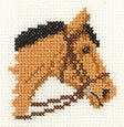 click here to view larger image of Bay Pony (counted cross stitch kit)