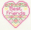 click here to view larger image of Best Friends (counted cross stitch kit)